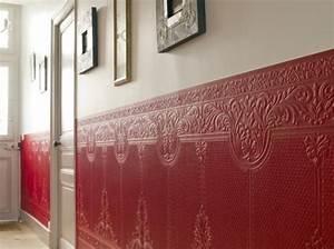 la deco couloir des astuces pour une ambiance agreable With peindre de la tapisserie