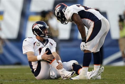 Manning Hurt In Final Minutes Of Broncos Win Over Chargers