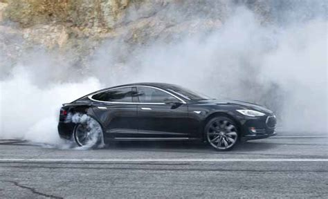 Tesla Model S P85d Vs Ferrari 575 Vs Lamborghini Aventador