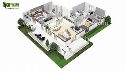 Plan Floor 3d Paris European Modern Virtual