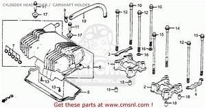 Honda Cm400t 1981  B  Usa Cylinder Head Cover    Camshaft