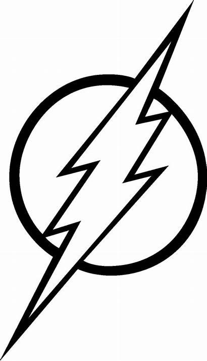 Superhero Flash Logos Simbolo