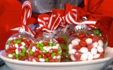 candy filled ornaments great gift idea   workers