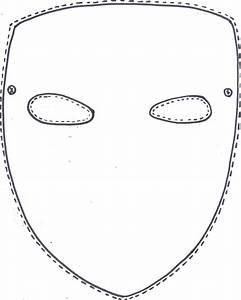Blank Mask Template Printable