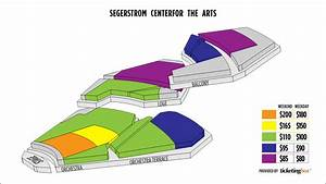 Costa Mesa Segerstrom Center For The Arts Seating Chart