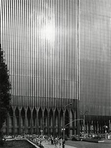 Twin Towers. World Trade Center, New York City. Minoru ...