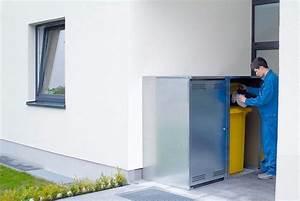 Anbau An Bestehendes Haus Vorschriften : anbau box vario verzinkt f r m lltonnen bis 360 liter ~ Whattoseeinmadrid.com Haus und Dekorationen