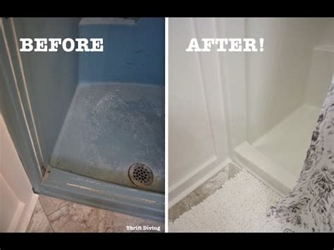 diy shower  tub refinishing   paint   shower