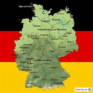 Deutschland Physische Karte : physikalische karte deutschland my blog ~ Watch28wear.com Haus und Dekorationen