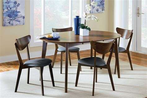 Malone Round Extendable Dining Table from Coaster (105361
