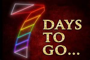 Just 7 Days To Go  Go  Go   U2014 Pieter Toerien Productions