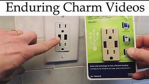 How To Install A Usb Electrical Outlet