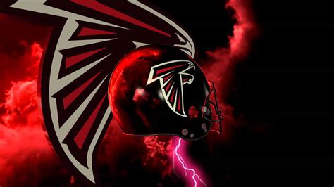 atlanta falcons helmet  logo lightning experience youtube