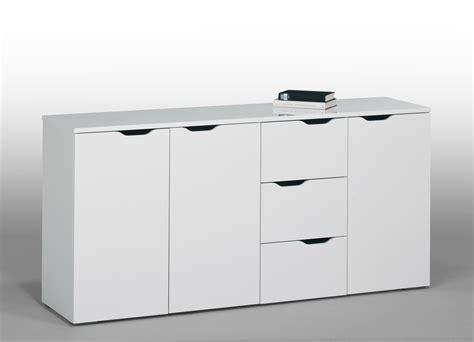 cuisine en allemagne meuble de rangement contemporain blanc 3 portes 3 tiroirs kelen meuble de rangement meuble