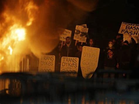 refuse fascism group  berkeley riot received
