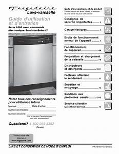 Frigidaire Fdb1050rec3 Pdf Manuals For Download