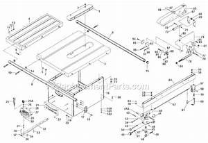 Delta Table Saw Parts Manual 34