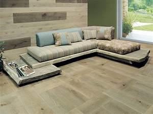 Raw, Oak, Sofa, Design, By, Cadorin