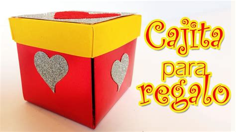 caja para regalos de san valentin manualidades para todos