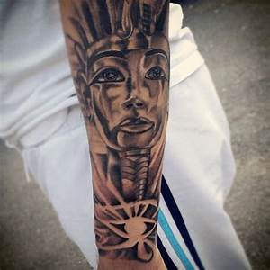 60 Egyptian Tattoos For Men - Ancient Egypt Design Ideas