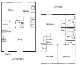 3 bedroom 3 bath floor plans 3 bedroom apartment floor plans floor plans