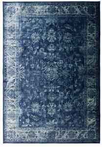 Teppich Vintage Blau : luxus vintage teppich mit orient flair ~ Whattoseeinmadrid.com Haus und Dekorationen