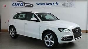 Audi Q5 Blanc : audi q5 2 0 tdi 190 clean diesel s line quattro s tronic7 occasion lyon neuville sur sa ne ~ Gottalentnigeria.com Avis de Voitures