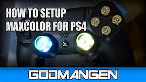 How To Setup Maxcolor Modchip For Ps4 Controller  Dualshock