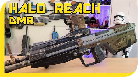 halo reach dmr cosplay prop youtube