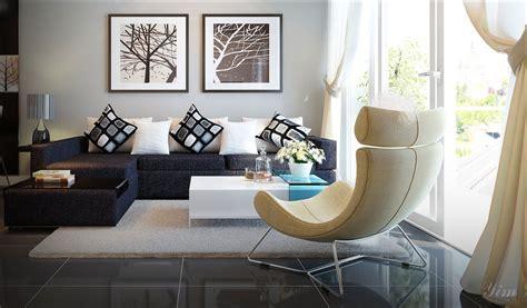 Braunes Sofa Kombinieren by A Brown Combine Yellowish Chair Interior
