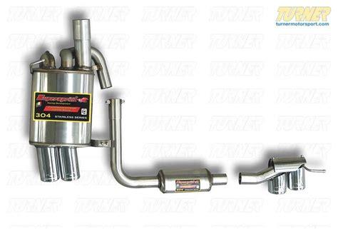 E85 Z4 3.0si Supersprint Power Loop Muffler For