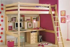 Bureau Ado Fille : bureau chambre adulte meuble tv conforama noir et blanc ~ Melissatoandfro.com Idées de Décoration