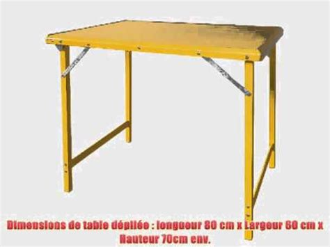 sobuy 8829 t y table cing pliable portable table pliante de jardin cing pique nique