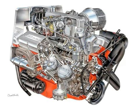 Small Block Chevy Engine by Style Small Block Chevy Cutaway Engines