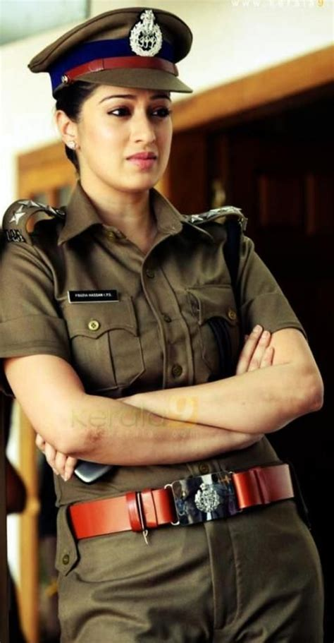 indian actresses   beautiful  police
