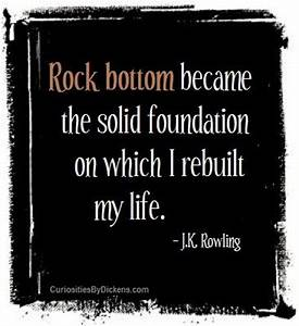 Pin by Curiosit... Rock Foundation Quotes