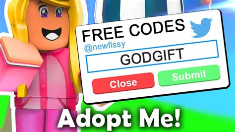 working code  adopt  roblox youtube
