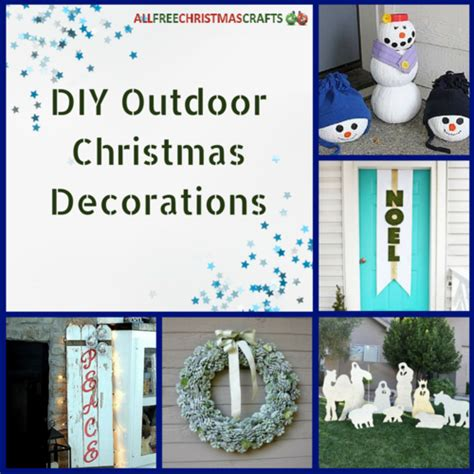 outdoor christmas decorations 20 diy outdoor christmas