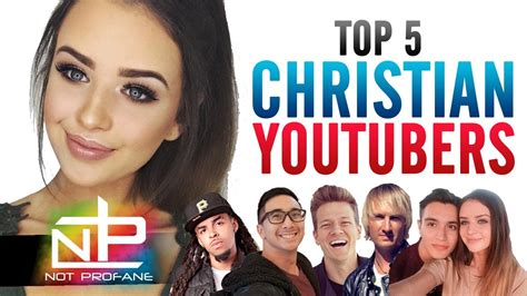 Christian Youtube Channels  Top 5 Best Christian Youtu