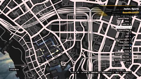 grand theft auto  story mode rare car spawn locations