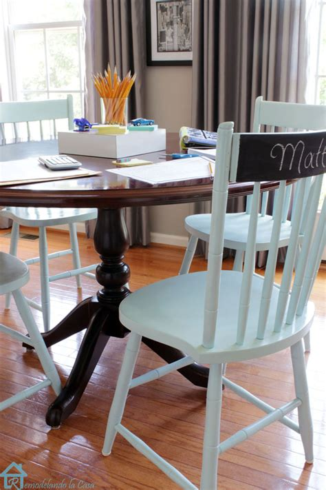 the painted chairs a second chance makeover pretty