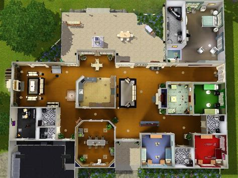 image result  sims  house blueprints  bedrooms sims