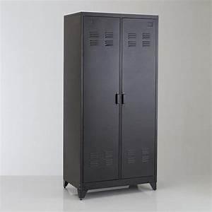 Armoire Vestiaire Metal : les 25 meilleures id es concernant armoire m tallique sur ~ Edinachiropracticcenter.com Idées de Décoration