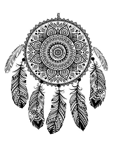 Kids-n-fun.com   16 coloring pages of Dreamcatchers