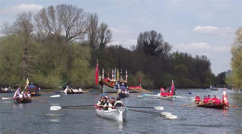 Boat Canopy Thames by Hear The Boat Sing Oars Of The Roses The Tudor Pull