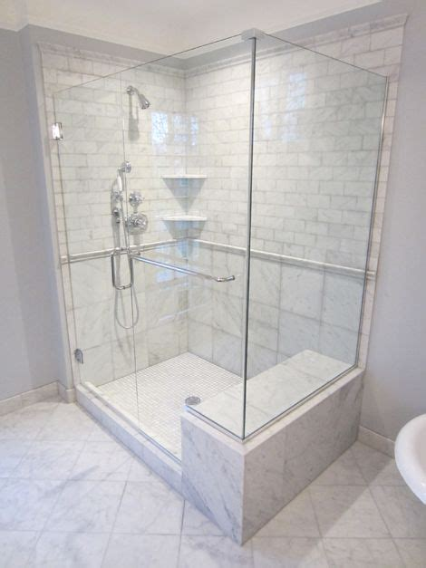 Bathroom Shower Enclosures With Seat by Showers With Seats New Marble Tiled Shower With Seat