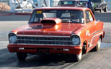 chevy nova ss drag car  aluminum interior  dream car