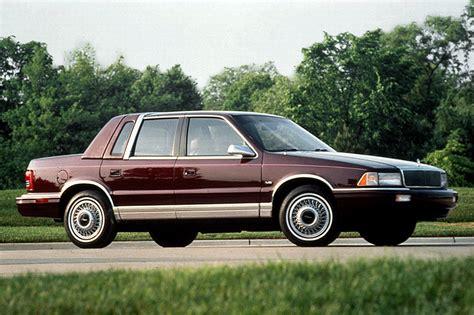books about how cars work 1993 chrysler lebaron on board diagnostic system 1990 94 chrysler lebaron sedan consumer guide auto