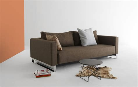 Durable Sofa Bed by Begum Olive Upholstered Sofa Bed With Durable Chrome Legs