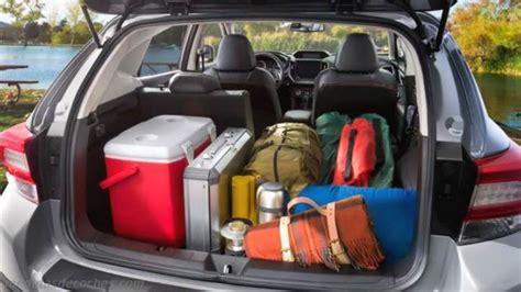 medidas subaru xv  maletero  interior